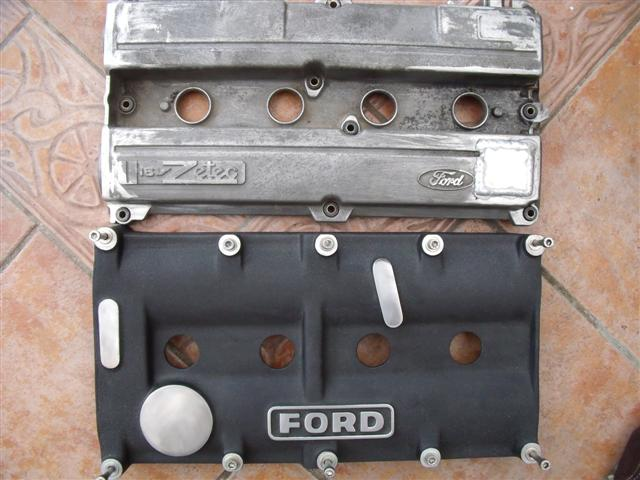 Wanted Silver Top Zetec Rocker Cover